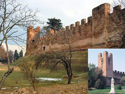 Medieval walled town of Castelfranco