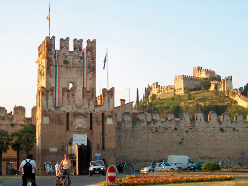 Castle in Soave