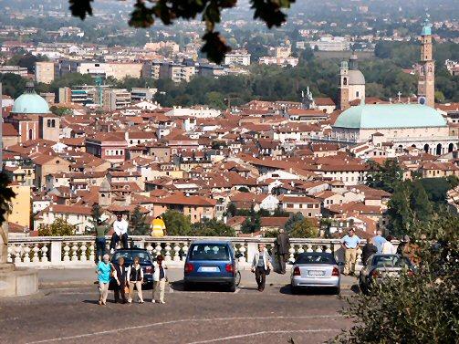 Vista panorimica della città